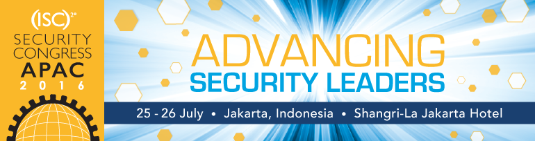 (ISC)² Security Congress APAC 2016