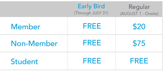 2019 Expo Only Pricing