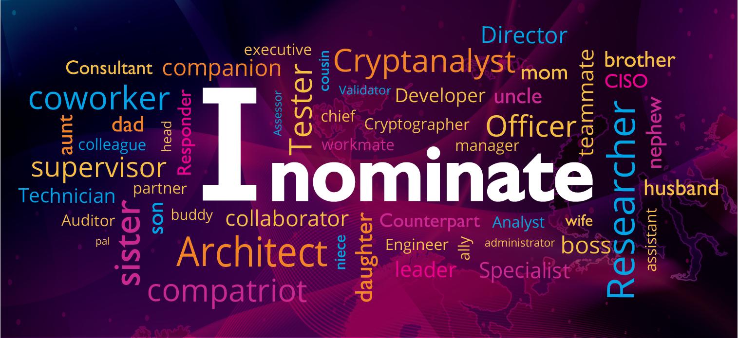 I nominate