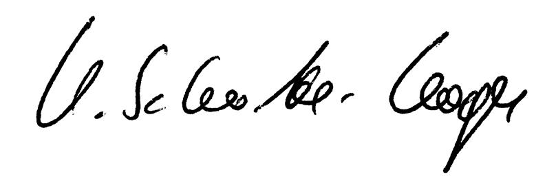 Unterschrift Schulze Koops