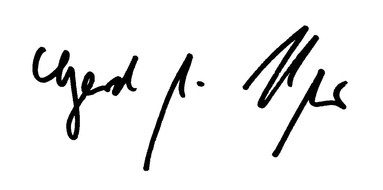 Unterschrift Burmester