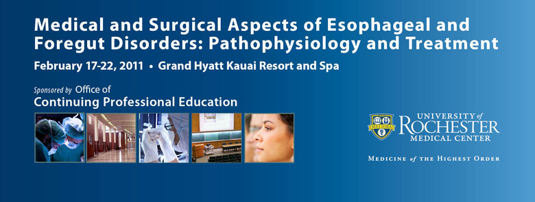 Medical and Surgical Aspects of Esophageal and Foregut Disorders: Pathophysiology and Treatment