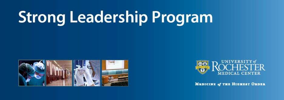 Strong Leadership Program - Spring Sessions 2013