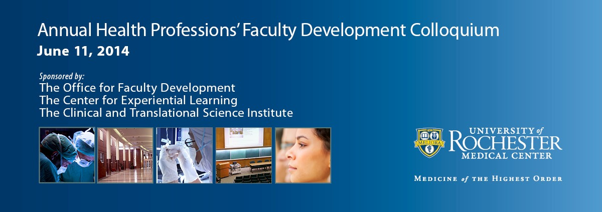 Annual Health Professions' Faculty Development Colloquium