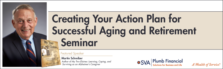 Creating Your Action Plan for Successful Aging and Retirement (Madison)