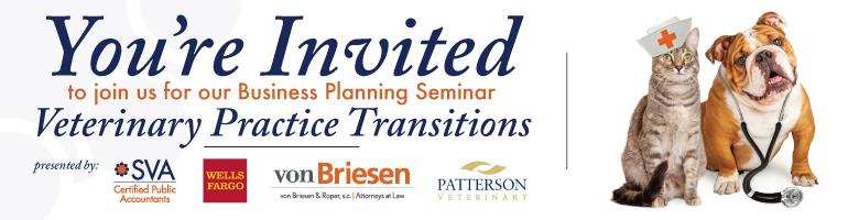 Business Planning Seminar - Veterinary Practice Transitions