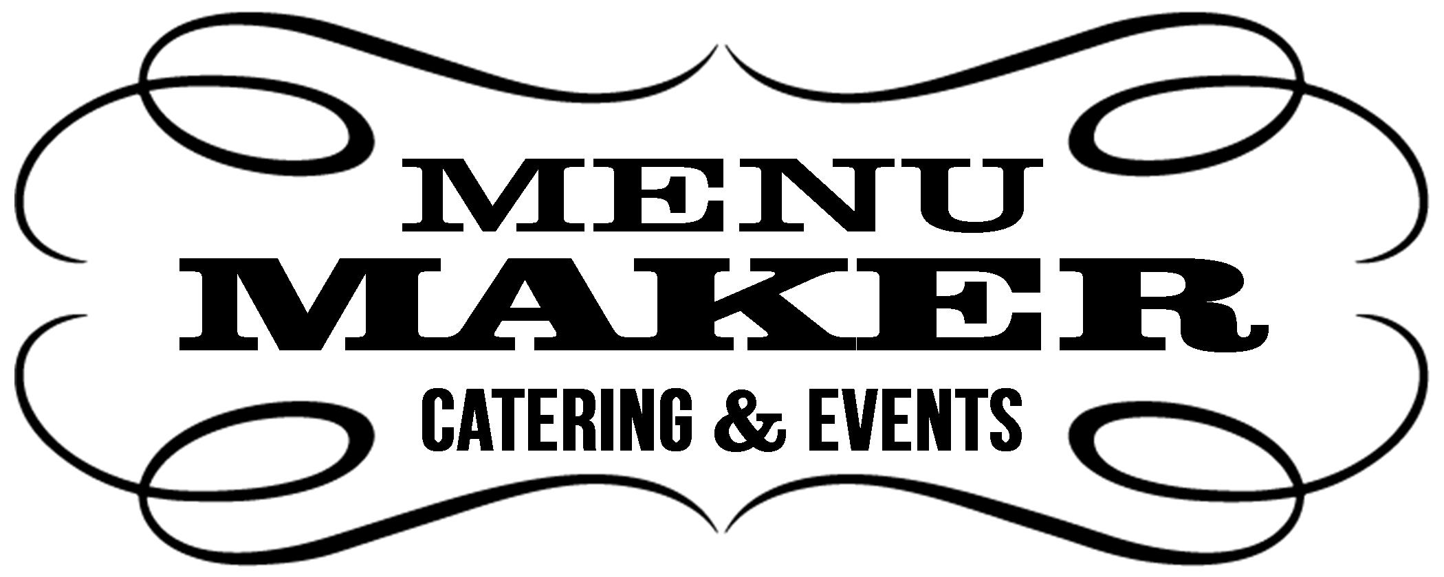 Menu Maker Logo Catering Events