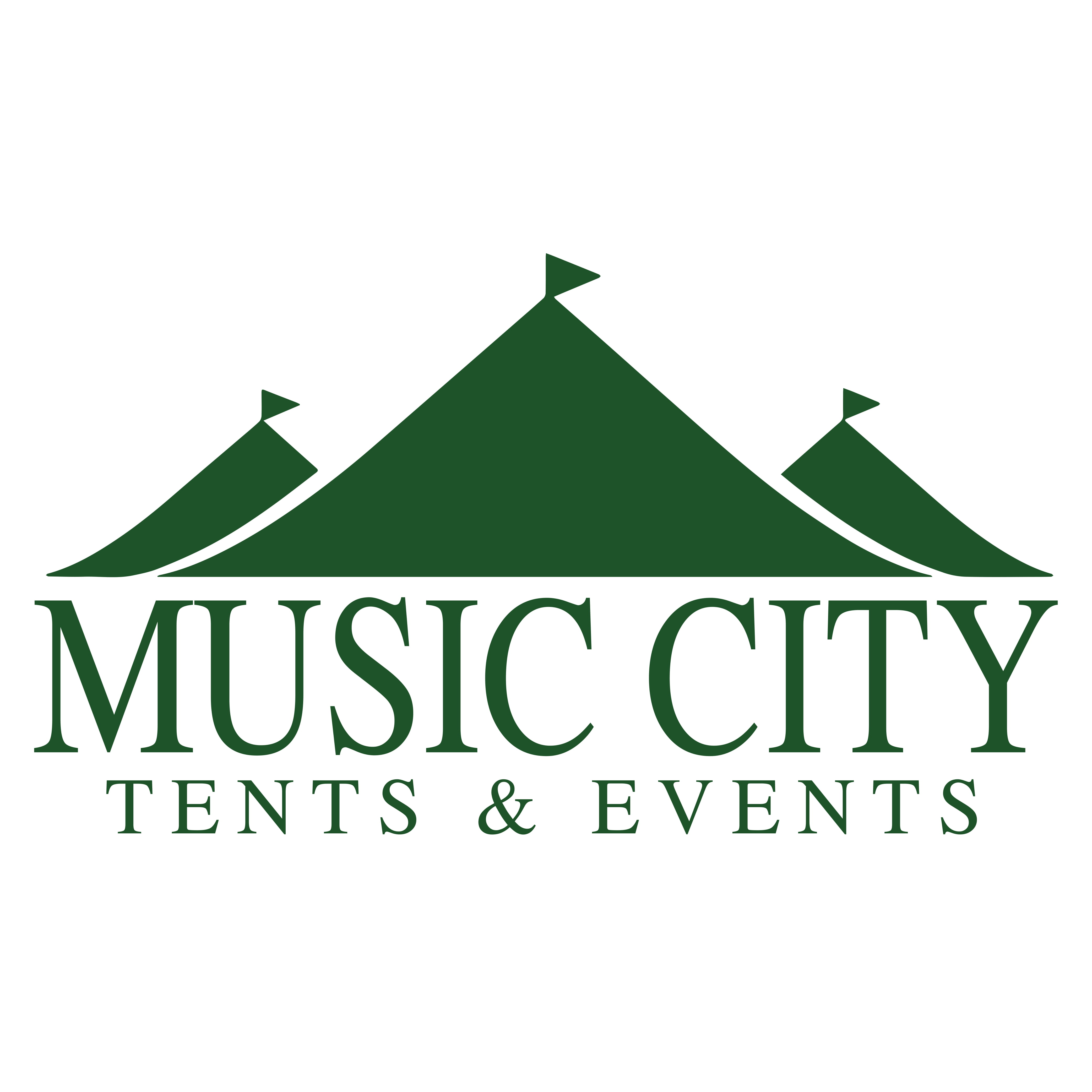Music City Tents logo