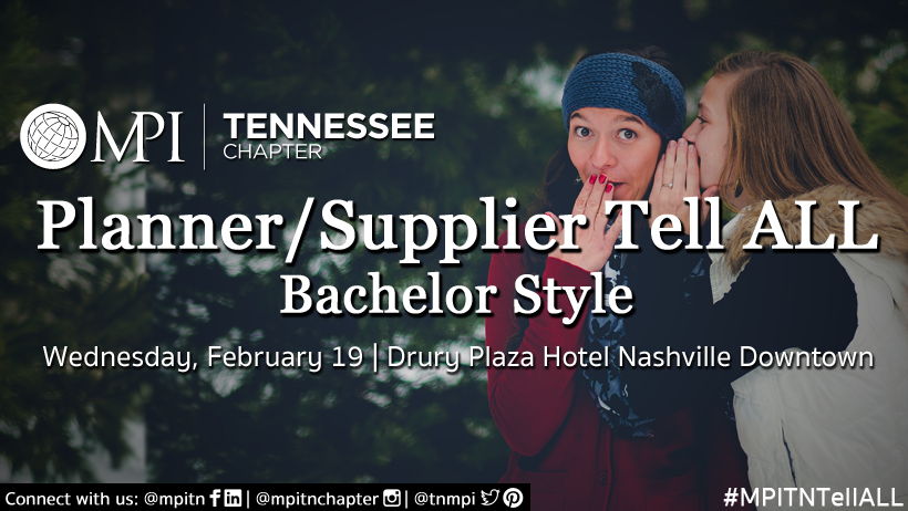 """Planner/Supplier Tell ALL - """"Bachelor"""" Style!"""