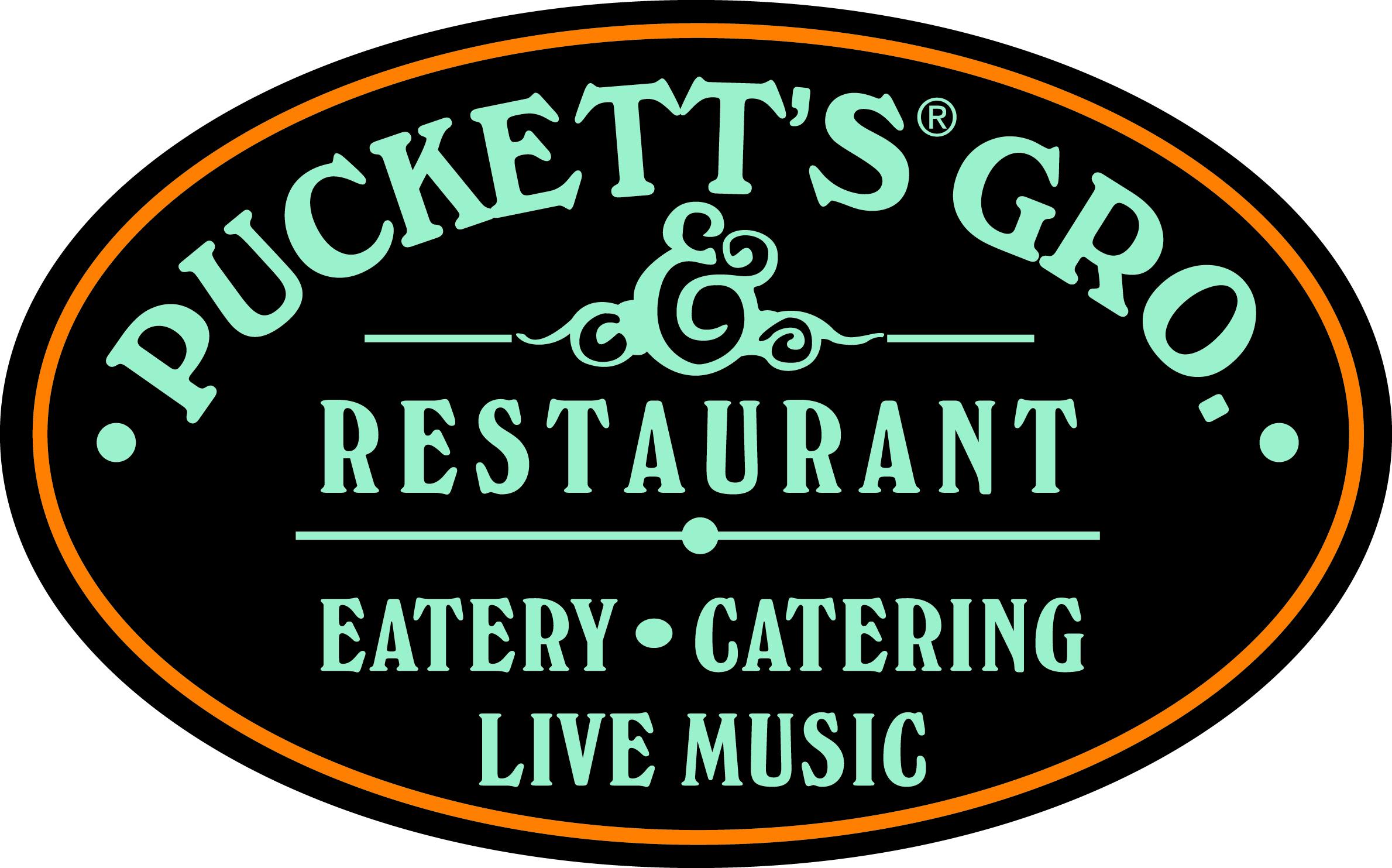 Puckett's Color Oval Logo