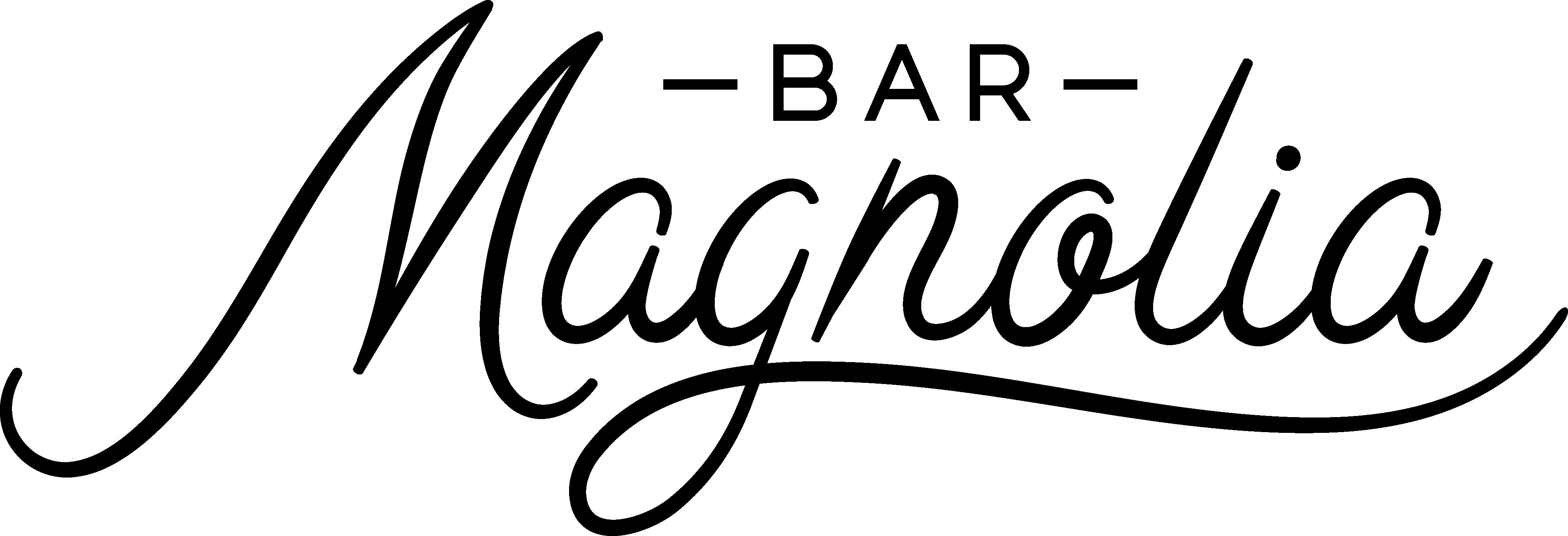 Bar Magnolia logo Black PNG