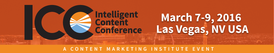 Intelligent Content Conference 2016