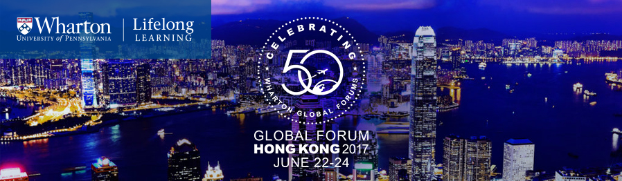 Global Forum Hong Kong, June 22-24 2017