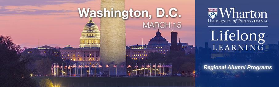 Wharton Lifelong Learning - Washington, DC