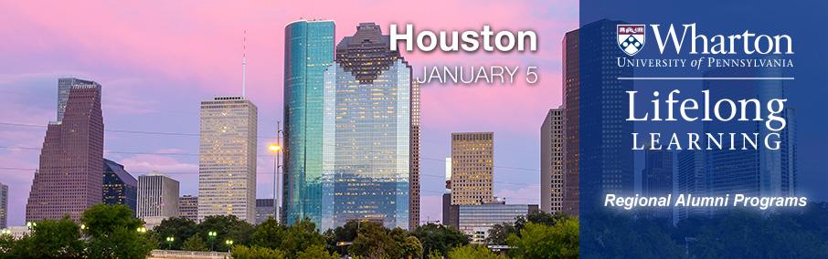 Wharton Lifelong Learning - Houston