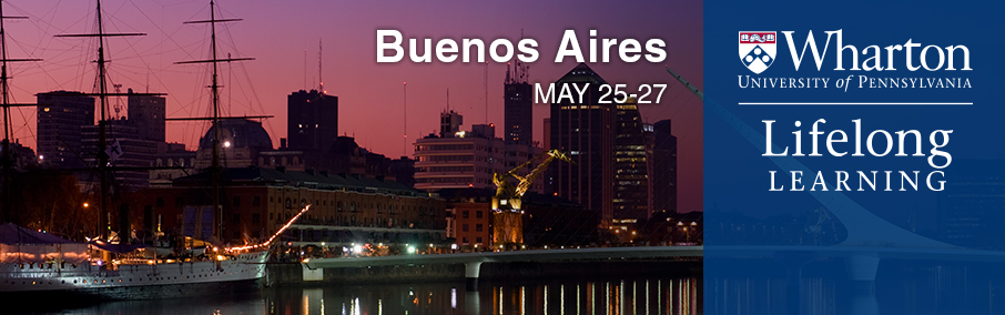 Global Modular Course for Alumni: Buenos Aires, Argentina