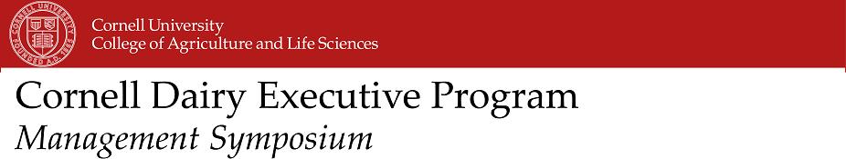 2017 CDEP Management Symposium