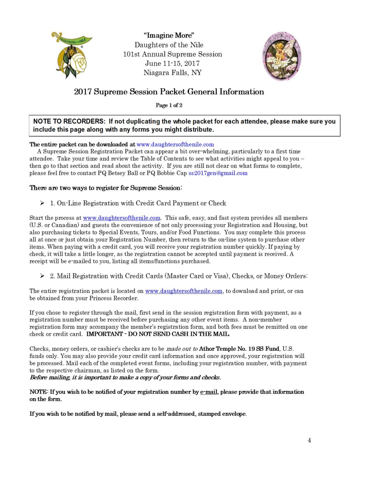 4 General Information