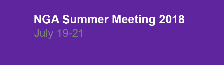 2018 Summer  Meeting
