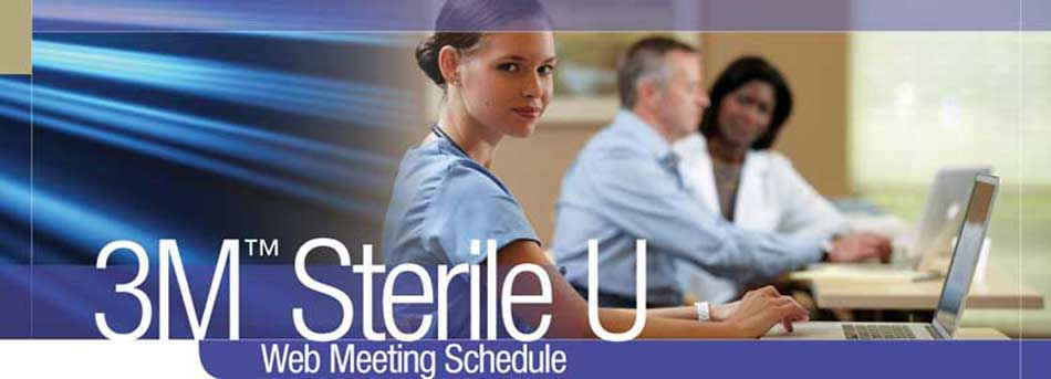 3M(TM) Sterile U 2011 Webinars