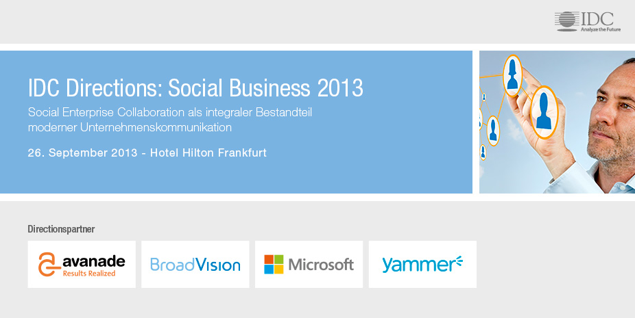 IDC Directions: Social Business 2013 - Germany