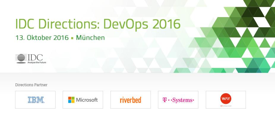 IDC Directions: DevOps 2016 - Germany