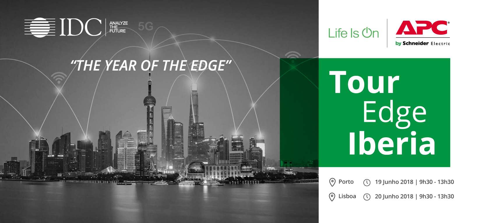 IDC e SCHNEIDER ELECTRIC | Tour Edge Iberia