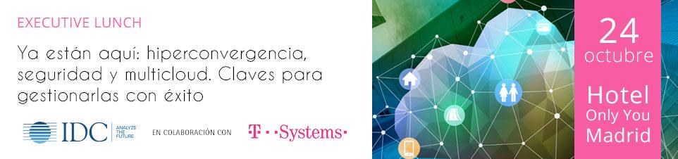 IDC T-Systems Executive Lunch Madrid  -24 de Octubre-