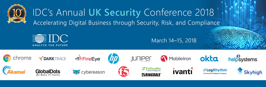 IDC's Annual UK Security Conference 2018