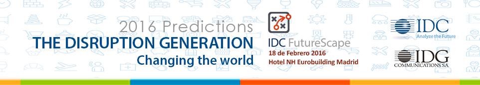 IDC PREDICTIONS 2016 Madrid Spain