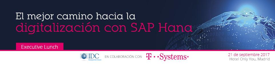 IDC T-Systems Executive Lunch Madrid  -21 de Septiembre-