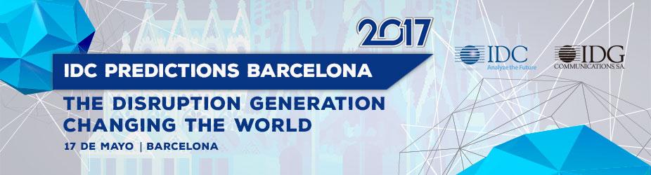 IDC PREDICTIONS 2017 BARCELONA