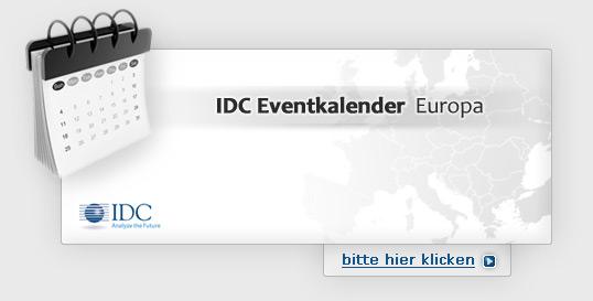 IDC Eventkalender - Europa