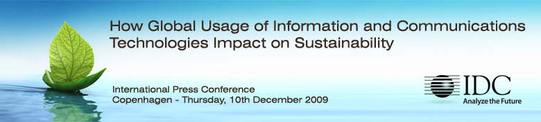 How Global Usage of Information and Communications Technologies Impact on Sustainability