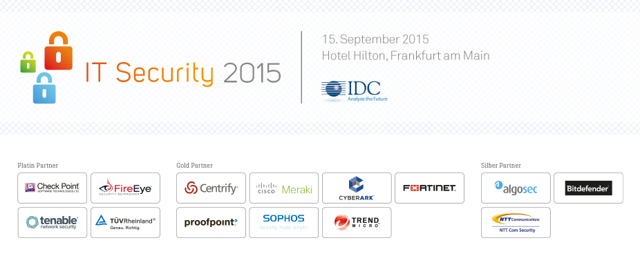IDC Security Conference 2015 - Germany