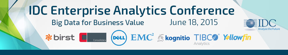 IDC's Enterprise Analytics 2015 - London