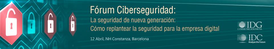 IDC Cybersecurity 2016 Barcelona Spain