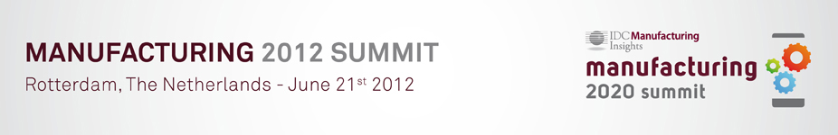 IDC's Manufacturing Summit 2012
