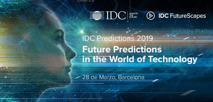 IDC PREDICTIONS 2019 Barcelona Spain