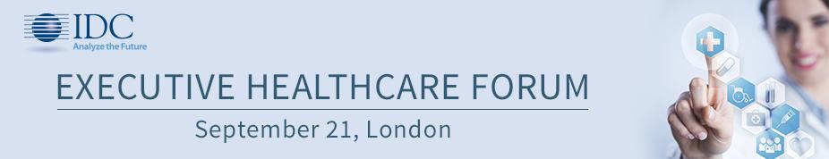 IDC's Executive Healthcare Forum 2016