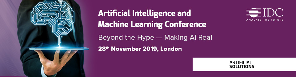 IDC's AI & Machine Learning Conference 2019