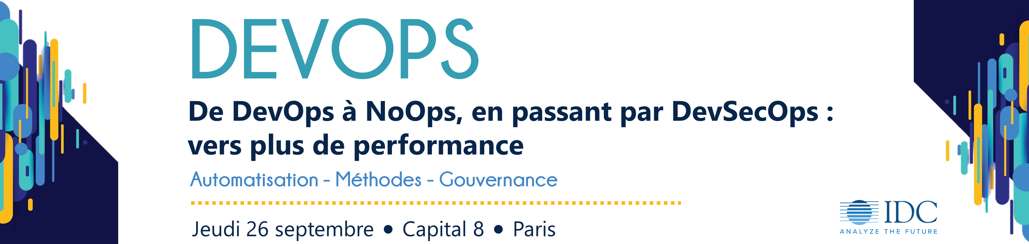 Conference IDC - Devops - 26 Septembre 2019