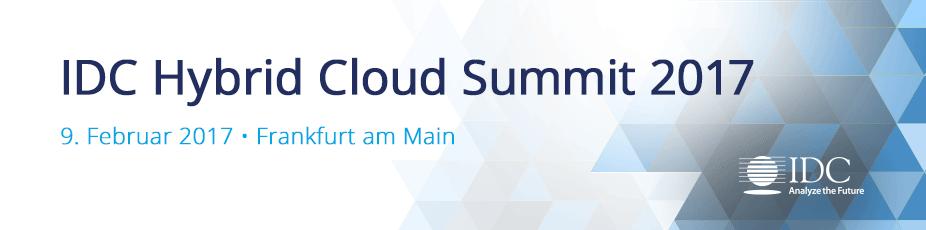 IDC Hybrid Cloud Summit 2017 - Germany