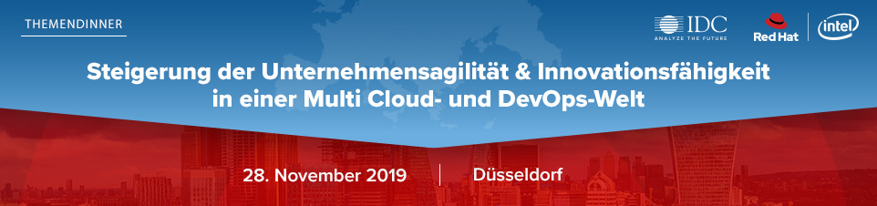 IDC Executive Dinner: Red Hat DevOps Düsseldorf 2019