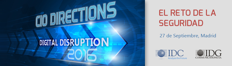 IDC CIO Directions 2016
