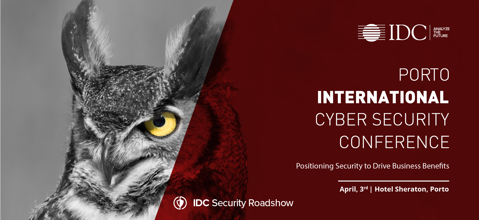 IDC PORTO INTERNATIONAL CYBERSECURITY CONFERENCE 2019
