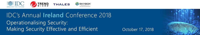 IDC's Ireland Conference 2018