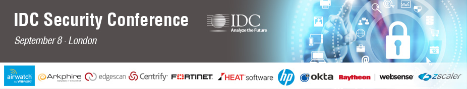 IDC's 7th Annual Security Conference UK