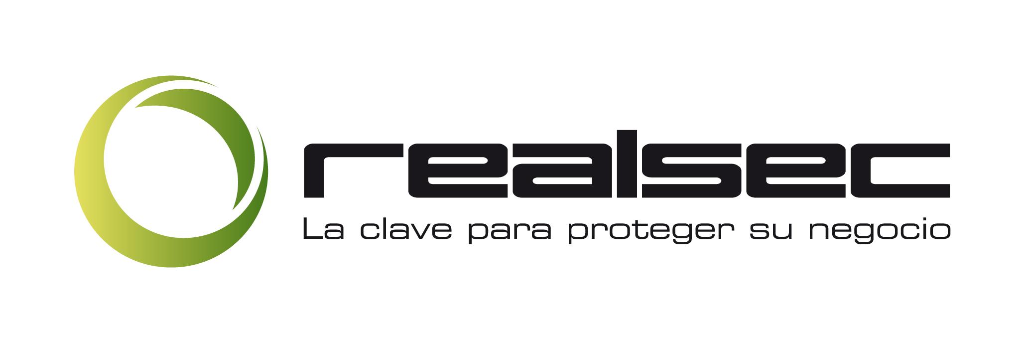 LOGO REALSEC Esp. Eslogan
