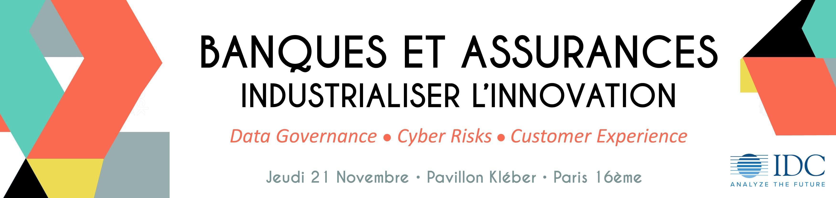 Conference IDC - Banque et Assurance - 21 Novembre